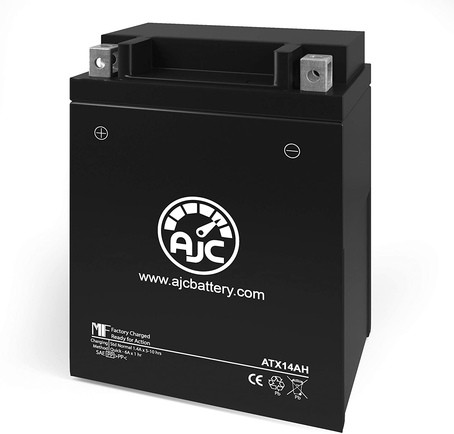 Polaris Scrambler 500 2X4 500CC ATV Replacement Battery (2001-2002) - This is an AJC Brand Replacement