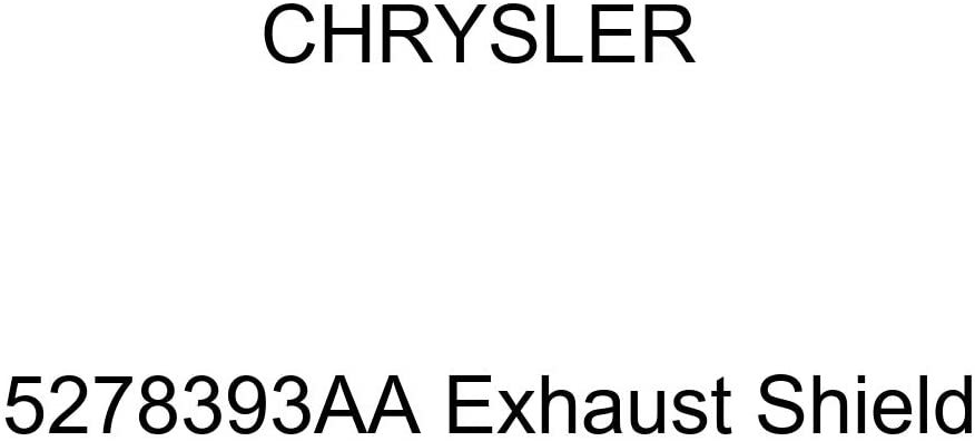 Genuine Chrysler 5278393AA Exhaust Shield