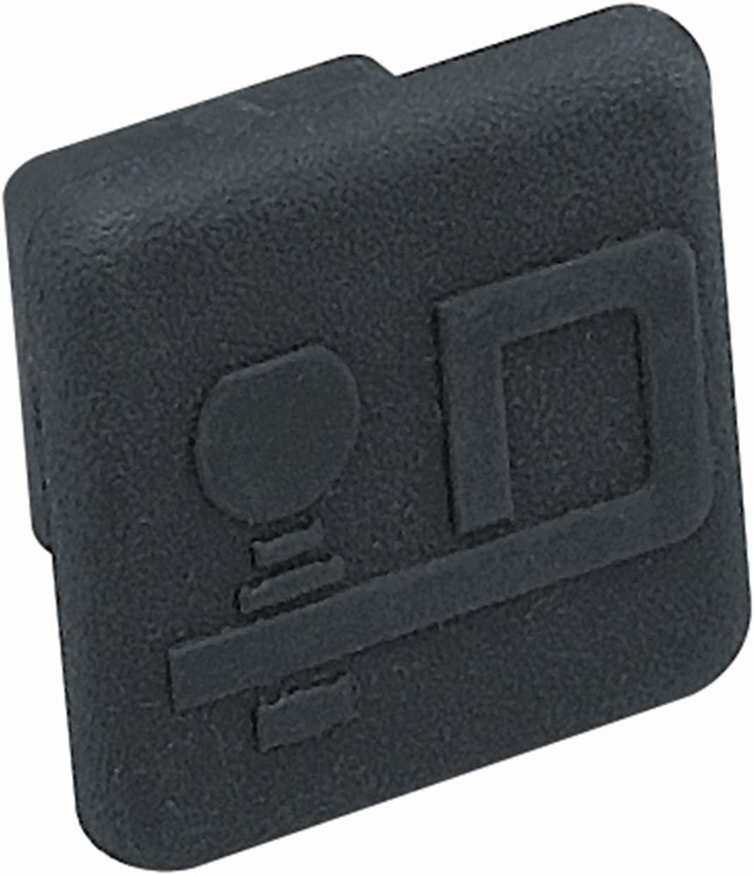 Draw-Tite 2211 Rubber Receiver Tube Cover with Logo for 1-1/4-Inch Receivers