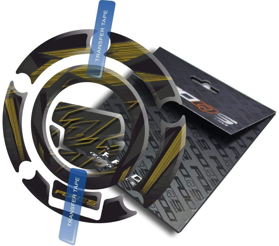 Fooqs Cappad for Yamaha YZF R1 YzfR1 (Black/Gold)
