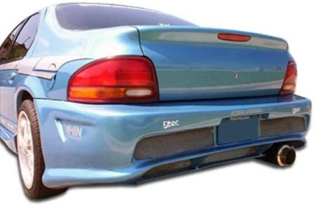 Compatible With/Replacement For Duraflex ED-FTB-123 Kombat Rear Bumper - 1 Piece - Compatible With/Replacement For Stratus 1995-2000