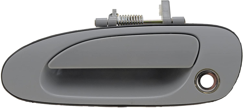Dorman 77375 Front Driver Side Exterior Door Handle for Select Honda Models, Black