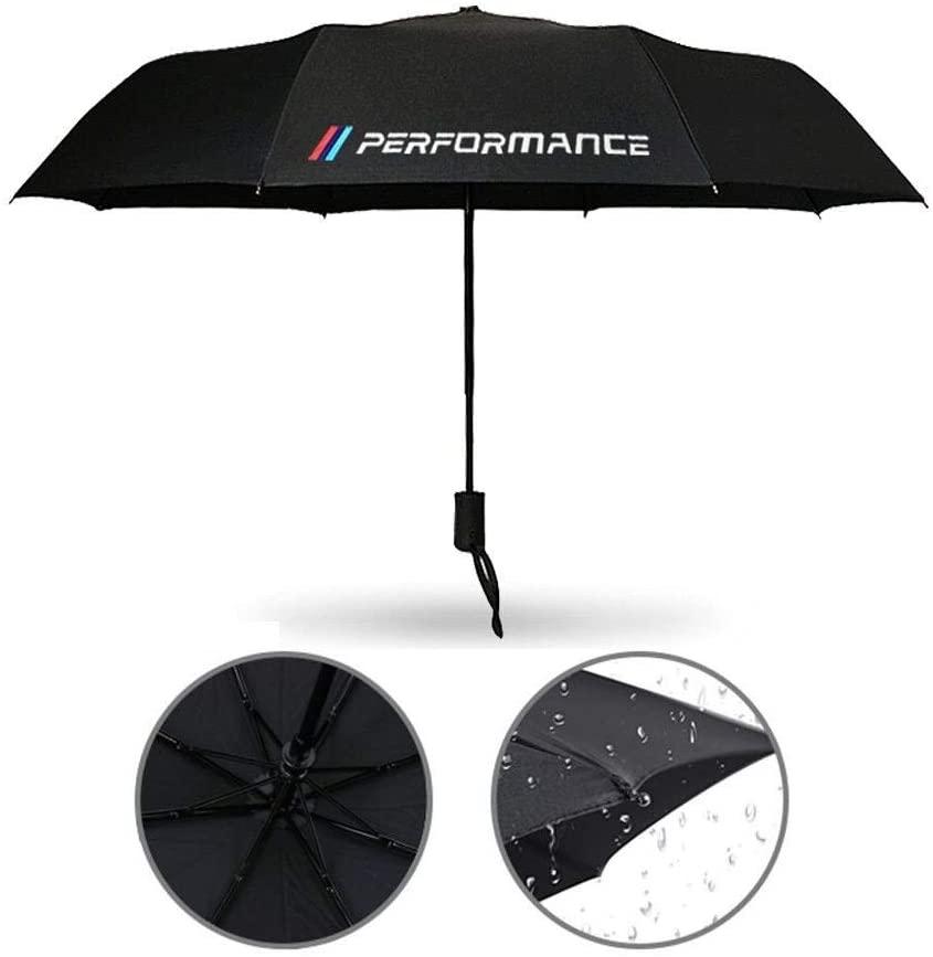 Mynew fit for BMW Weatherproof Automatic Umbrella Portable Travel Umbrella