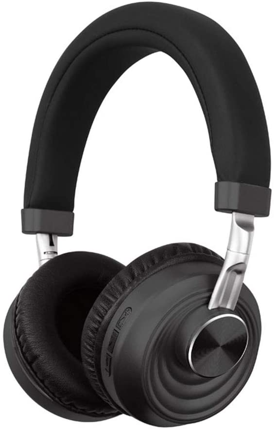 QLT 5.0 Bluetooth Headset,Wireless Gaming Headphone,Noise Cancelling Microphone/Hi-Fi Stereo Bass/Memory Foam Ear Pads,forPS4/PC/PS4 Pro (Color : Dark Gray)