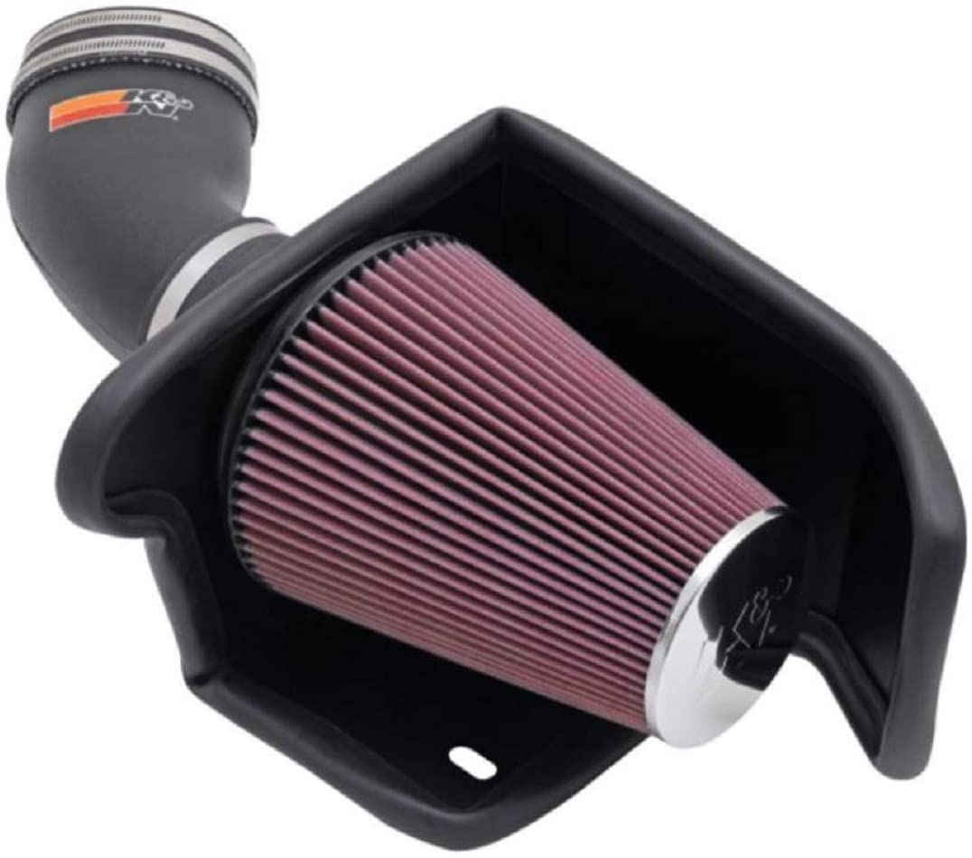 K&N Cold Air Intake Kit: High Performance, Guaranteed to Increase Horsepower: 50-State Legal: 2001-2004 Ford (F150 Lightning, F150 Harley Davidson), 5.4L V8, 57-2549