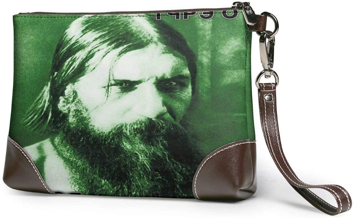 MAJJAKJH Type O Negative Dead Again Music Band Purses Clutch Phone Leather Small Wristlet Purses Handbag