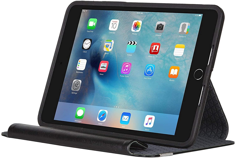 OtterBox Symmetry Series Folio Case for iPad Mini 4 (ONLY) - Black (Renewed)