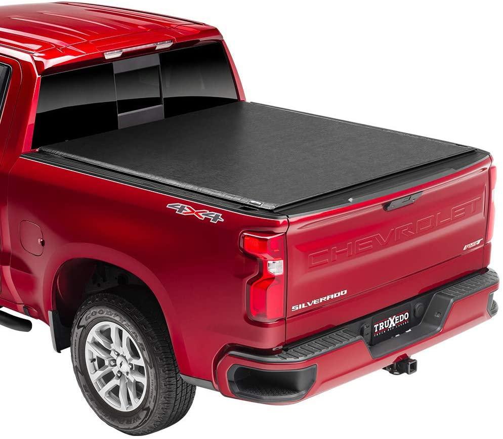 TruXedo Deuce Hybrid Truck Bed Tonneau Cover | 771801 | fits 14-18, 2019 Limited/Legacy GMC Sierra & Chevrolet Silverado 1500 5'8