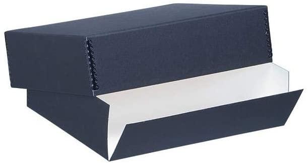 Lineco Archival 11x17 Print Storage Box, Drop Front Design, 11x17 x 3, Exterior Color: Black
