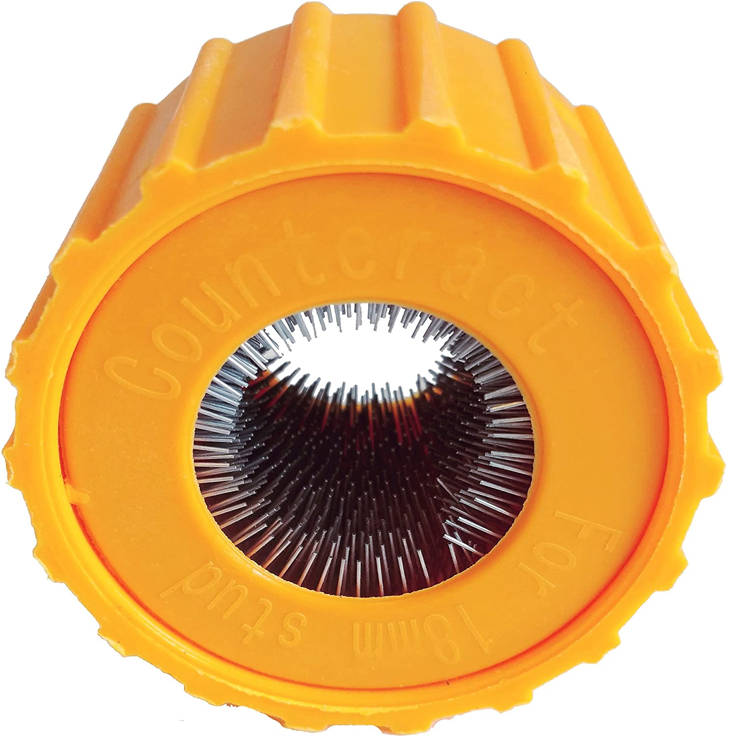 Counteract SBR18 Stud Brush Replacament Brush - 18mm (2 Pack), for use with SBCT22 Stud Cleaning Tool.