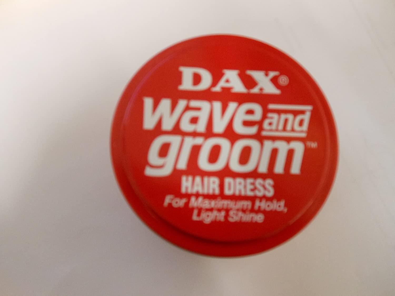 Dax Wave & Groom Hair Dress 3.5 oz. Jar (3-Pack) with Free Nail File