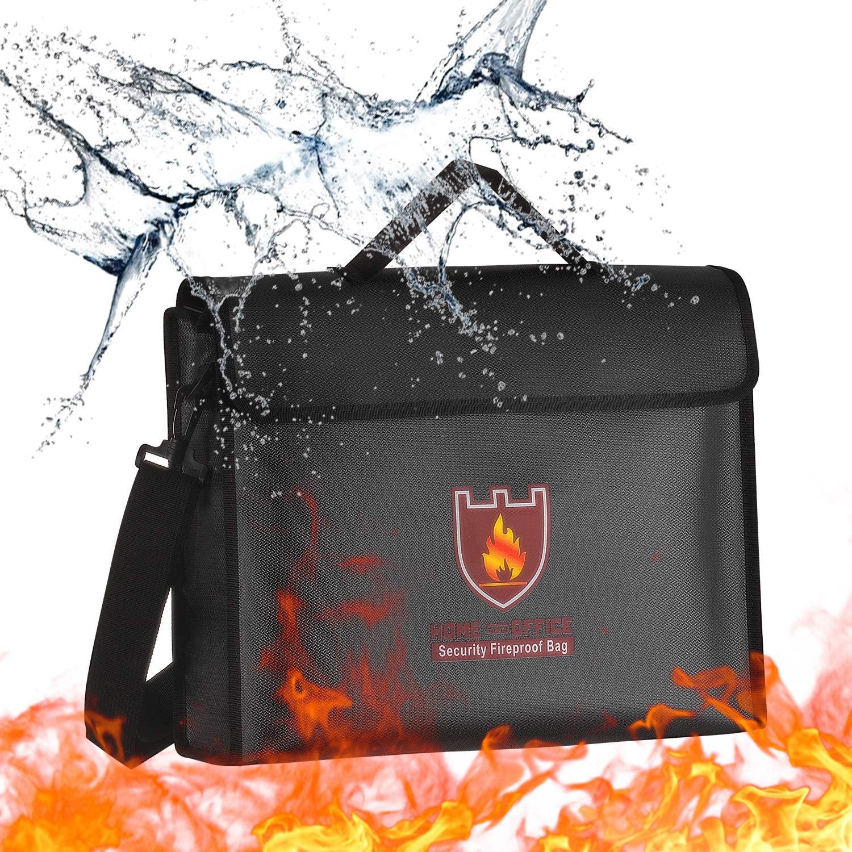 Hivexagon Fireproof Document Bag, 15