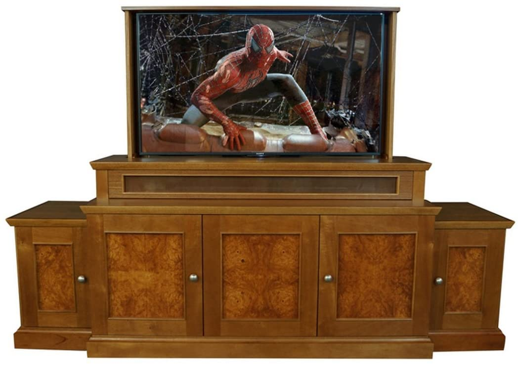 TV Lift - Handcrafted Austin TV Lift Cabinet (55