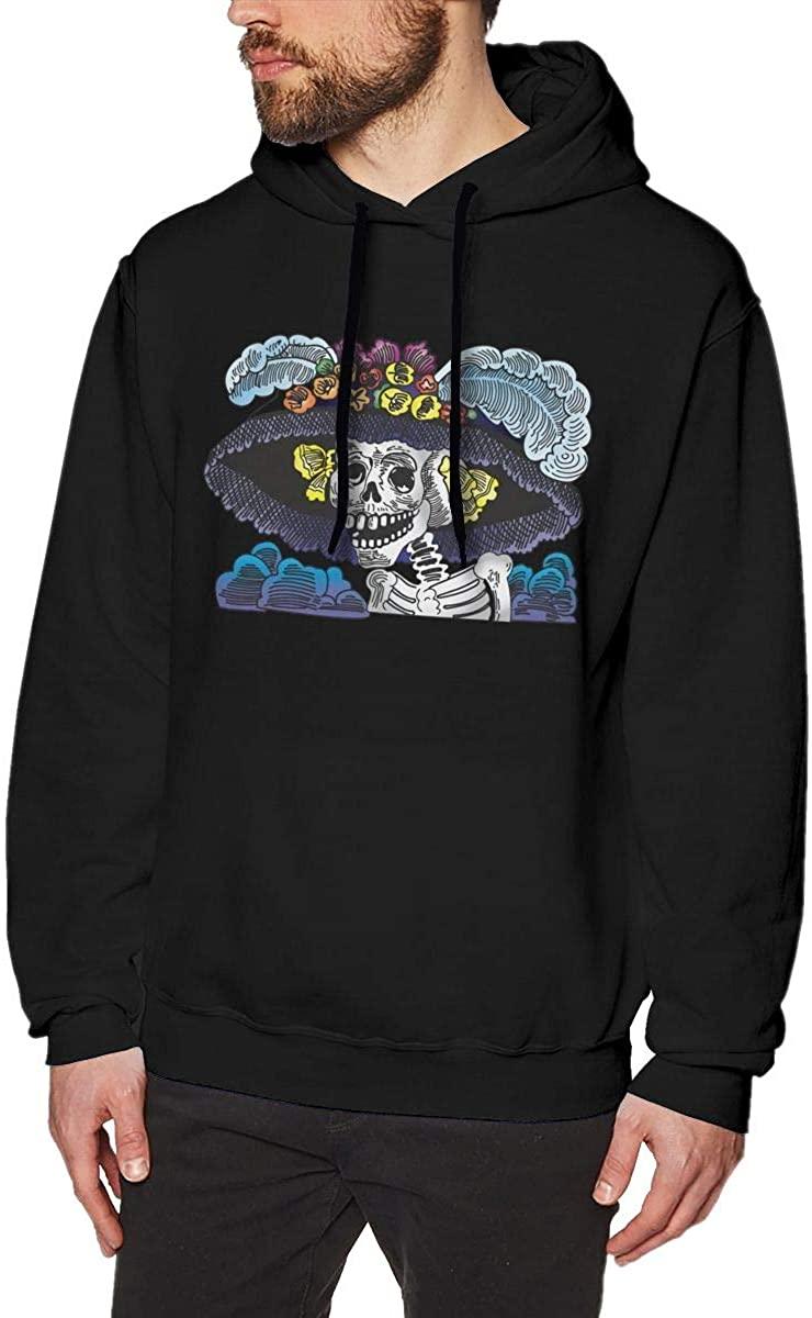Mexico Skull Man Graphics Retro Sweatshirt Hoodie Anime Pullover Hooded Tops
