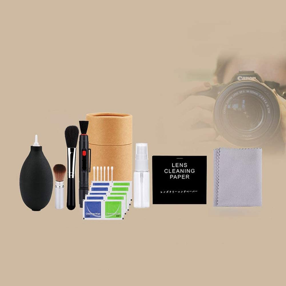 Redcolourful Professional Digital Camera Cleaning Brush Wipe ToolsPhoto Cleaning Kit