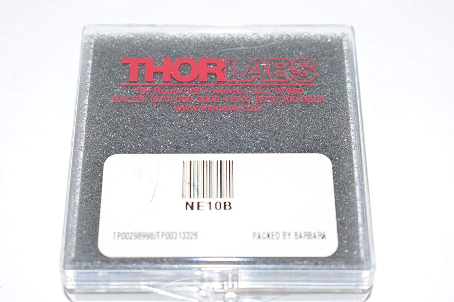 THORLABS A414-B f = 3.30 mm, NA = 0.47, Unmounted Rochester Aspheric Lens, AR: 650-1050 nm