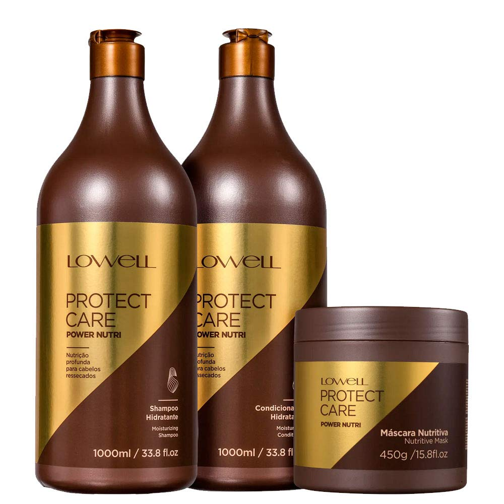 Kit Lowell Protect Care Power Nutri Professional Treatment