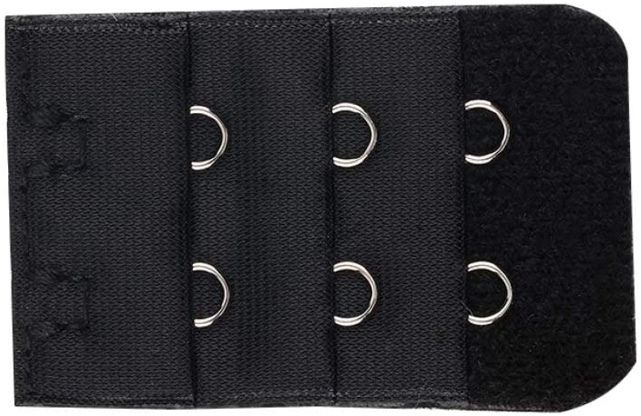 Women Bra Strap Lengthened Buckle Alloy Buckle 2 Hooks 3 Rows Extender Clip Clasp Buckle Extension Intimates Accessories