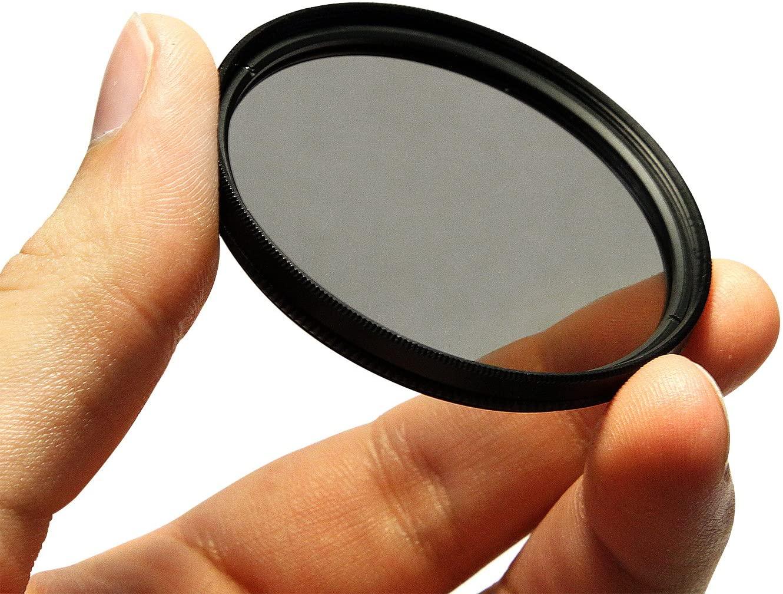 CPL Circular Polarizer Glare Shine Polarizing Filter for Canon EF-S 10-18mm f/4.5-5.6 is STM Lens