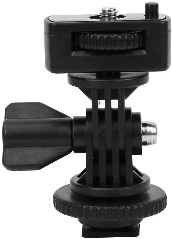 Portable Hot Shoe Adapter,Hot Shoe Converter Bracket for Sony AS200V AS300 AS30V AS100V AZ1 AS15 AS20 AS50 FDR-X1000V FDR-X3000(AS33)