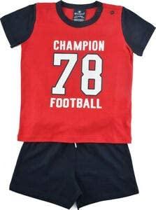 Champion Kids Clothing Set Training Tshirt Shorts Sports Fashion Boy Gym 304944R