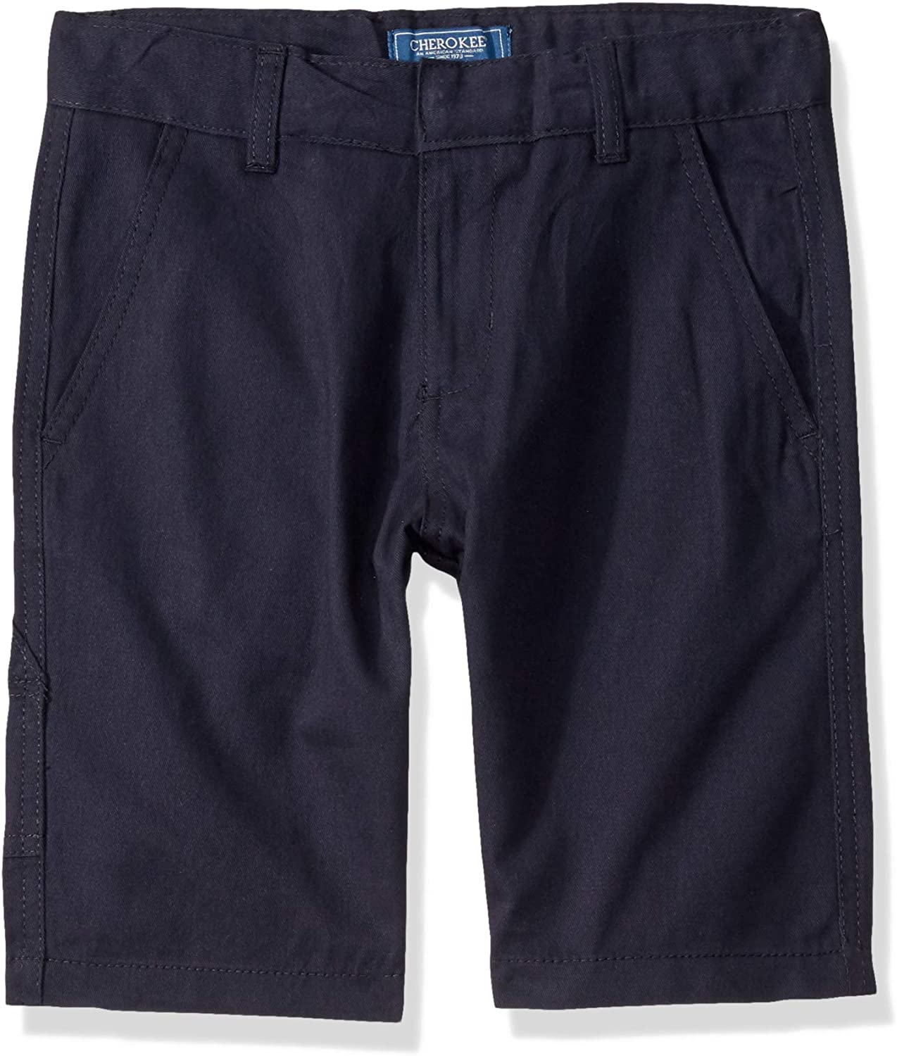 Cherokee School Uniforms Boys' Classic Fit Twill Short with Carpenter Pocket