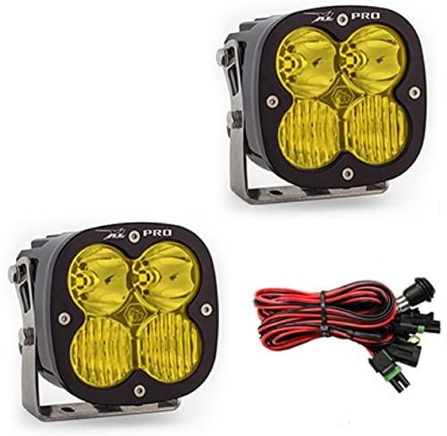Baja Designs XL PRO Pair ATV LED Light Driving Combo Amber Pattern