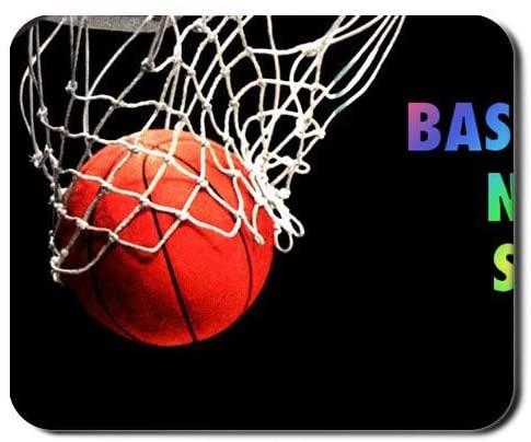 Babu Building Design Basketball Never Stops Use As 240Mmx200Mmx2Mm Mouse Mat Children Flip Soft TPU