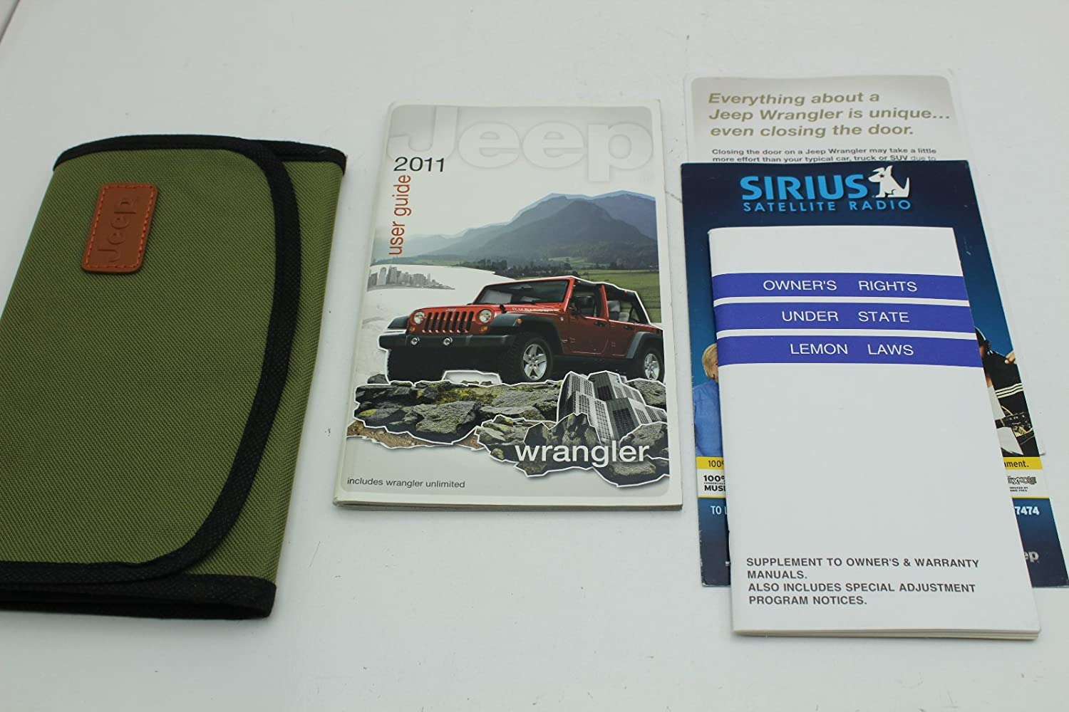 2011 Jeep Wrangler Owners Manual