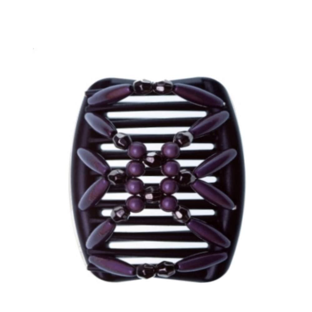 Hairmagic Haircombs. Small Miracle Black Charcoal, Black Combs