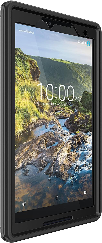 OtterBox DEFENDER SERIES Case for Verizon Ellipsis 8 HD - Retail Packaging - BLACK