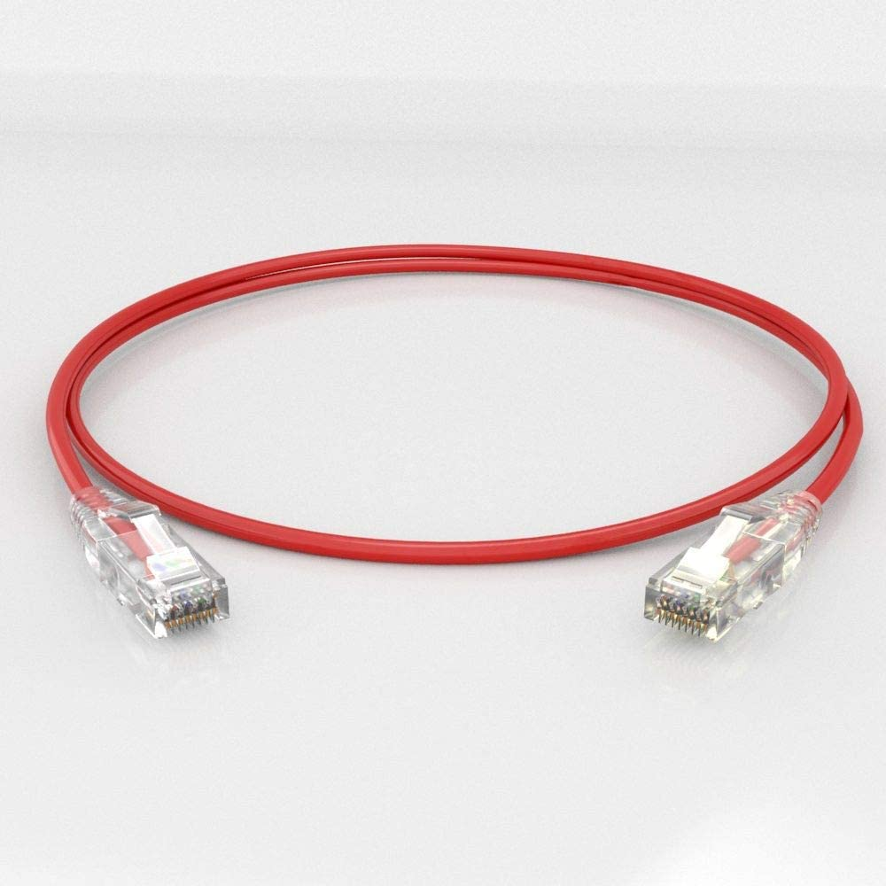 Enconnex Red CAT6 1FT Cable
