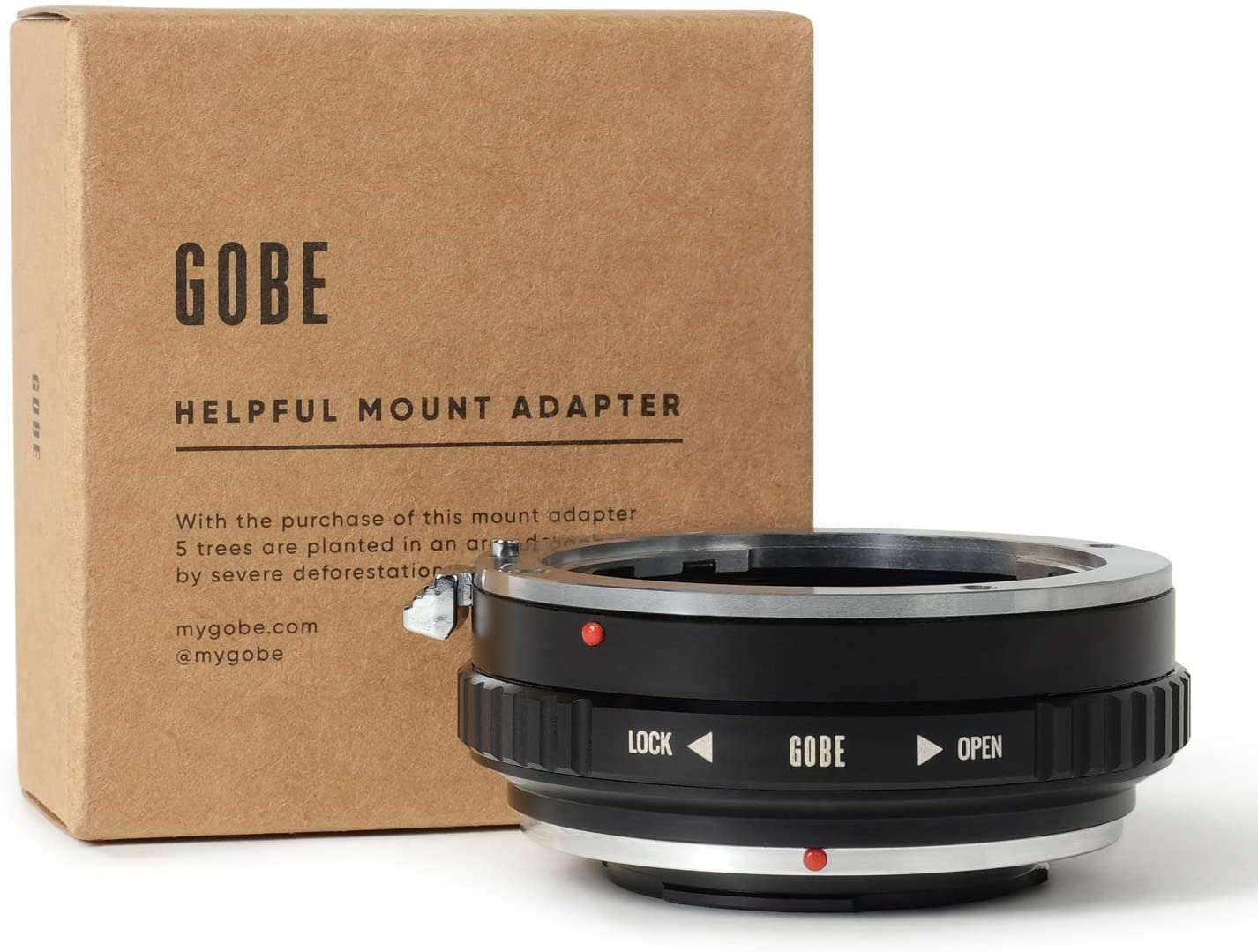 Gobe Lens Mount Adapter: Compatible with Sony A (Minolta AF) Lens and Micro Four Thirds (M4/3) Camera Body