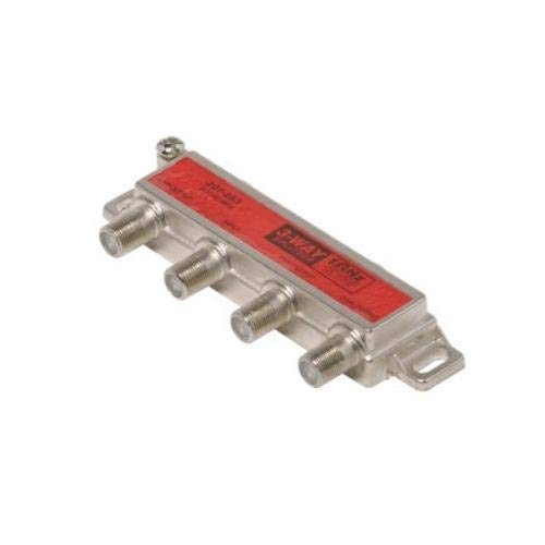 Steren 201-283, 3-Way 1 GHz 130 db 1-Side RF Splitter (Pack of 200 pcs)