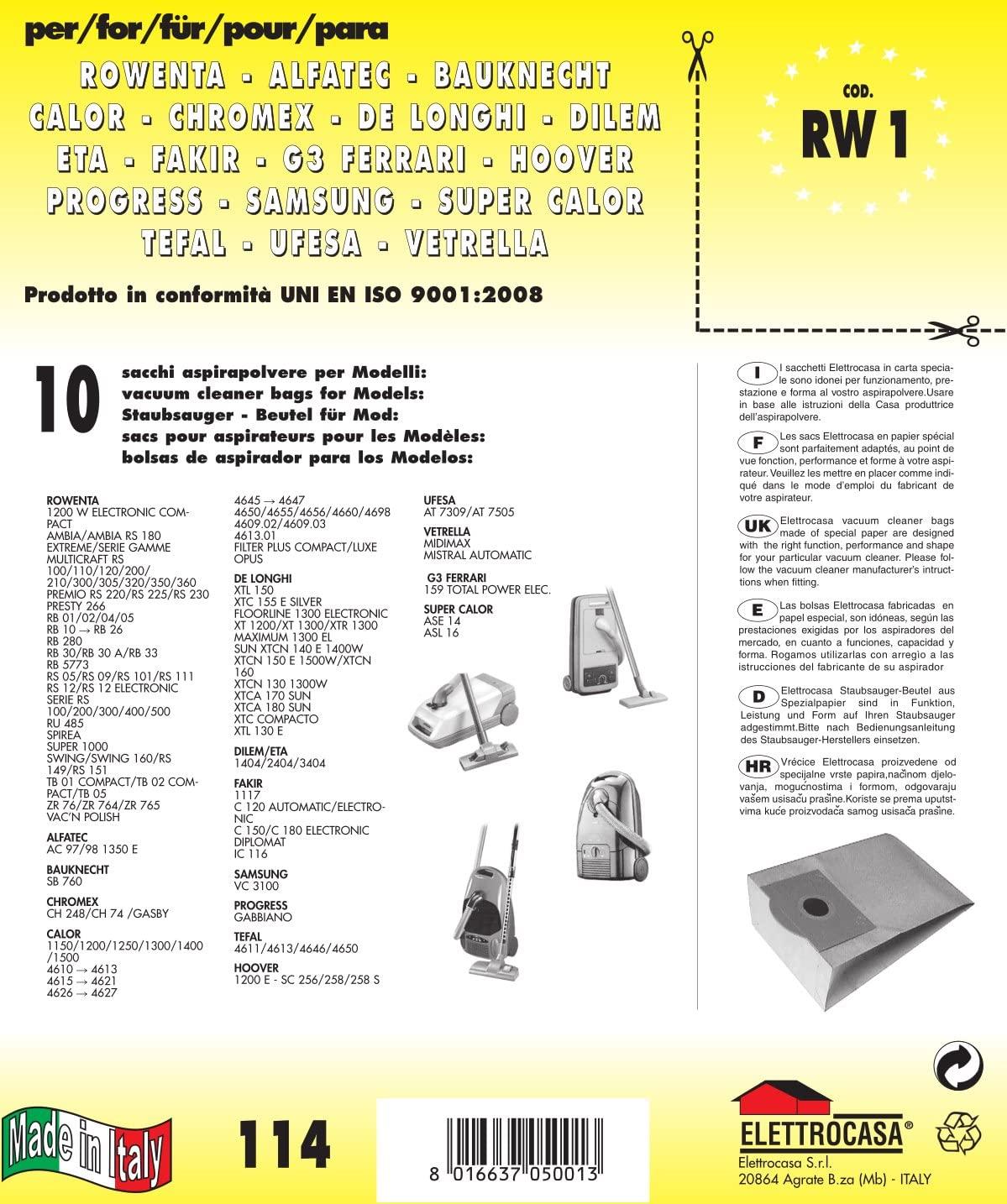RW1 CONF.SACCH.x ROWENTA