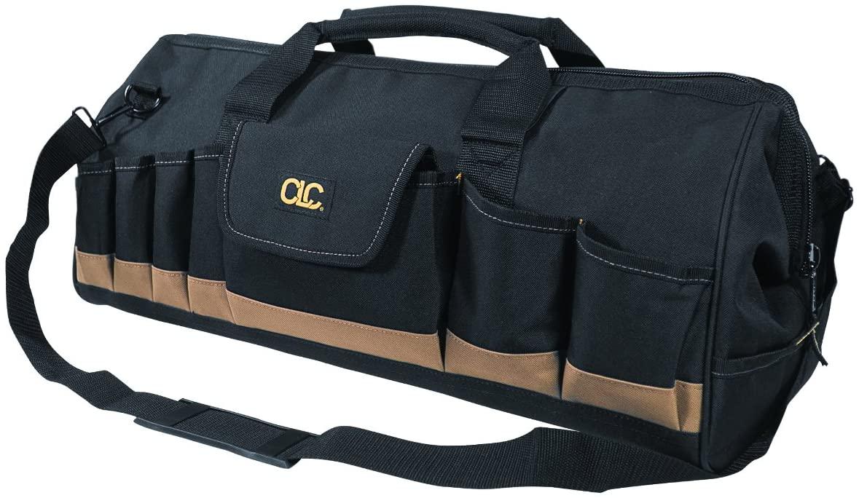 CLC Custom Leathercraft 1164 24 In. Megamouth Tote Bag, 32 Pocket