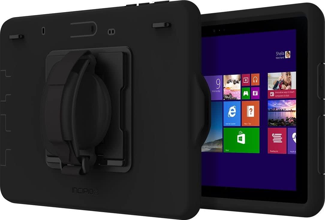 Incipio Capture Microsoft Surface Go Case with Rotating Hand Strap - Black