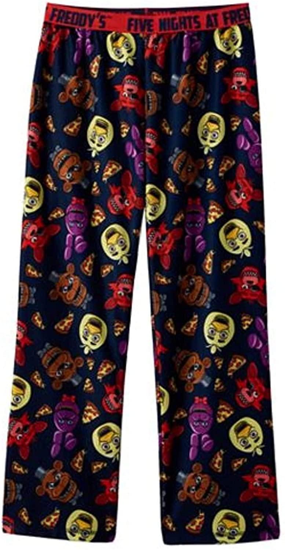 Five Nights at Freddy's Allover Print Big Boys Youth Pajama Lounge Pants