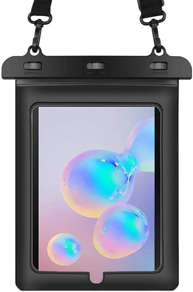 10.1 Inch Tablet Waterproof Dry Bag Fit Dragon Touch X10, K10, Teclast M20, T20, P10 4G, RCA Mars 8, NeuTab N11 Plus, Trio PRO 9, Stealth G5 7, Vulcan Omega II 8.95, Apple Ipad Air