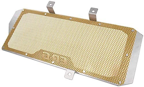 QYA Motorcycle Motorbike Radiator Guard Water Tank Coolant Grill Grille Net Cover Protector for 2012-2016 K-a-w-a-s-a-k-i Ninja 650 ER6N ER6F ER-6N ER-6F (Color : Gold)