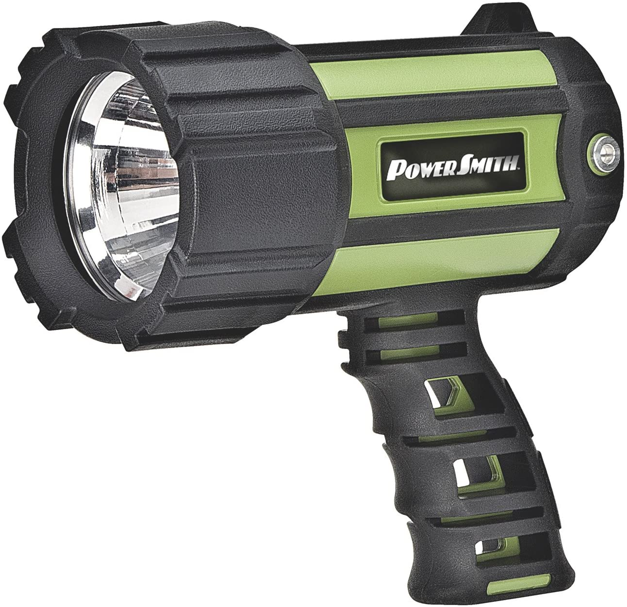 PowerSmith PSL10700W 700 Lumen Floatable Waterproof Rechargeable Lithium-Ion Battery-Powered LED Spotlight Flashlight with Ergonomic Handle and Charger