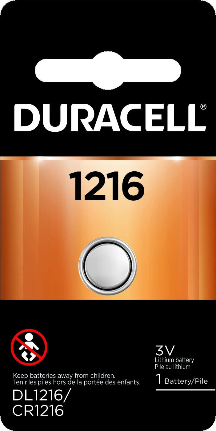 Duracell - 1216 3V Ultra Lithium Photo Size Battery - Long Lasting Battery - 1 Count