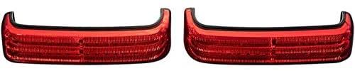 Custom Dynamics PB-SB-HD-BR Probeam Saddlebag Lights - Black/Red Lens