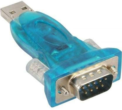 JX2 USB 2.0 to RS-232 Serial Adapter Converter Dongle USB Adapter (Blue)