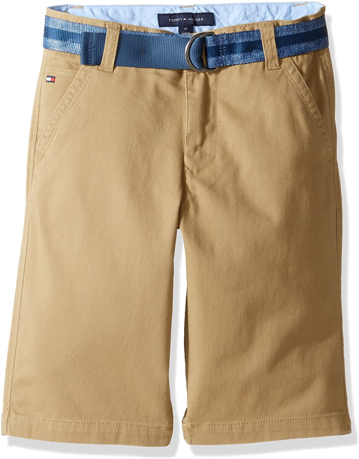 Tommy Hilfiger Boys' Chester Flat-Front Short