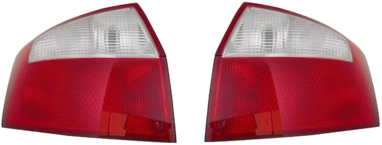 Rareelectrical NEW TAIL LIGHT PAIR COMPATIBLE WITH AUDI A4 GEN2 SEDAN 2002-2005 8E5945218A AU2818113 AU2819113 8E5 945 217 A 8E5945217A 8E5-945-217-A