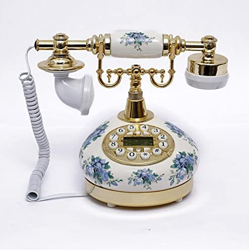 Ryu European-style home decoration telephone antique phone old telephone antique telephone fixed landline