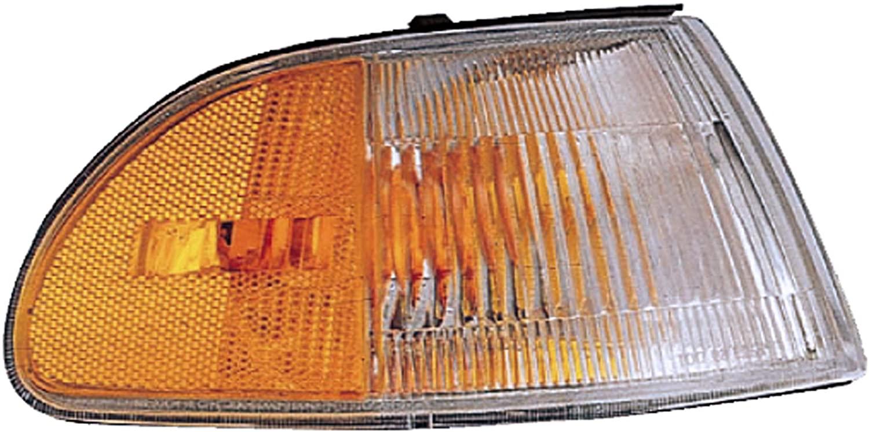 Dorman 1650607 Front Passenger Side Turn Signal / Parking Light Assembly for Select Honda Models