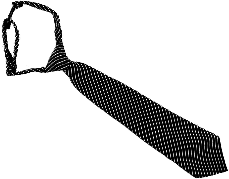PINSTRIPE TIE Black PINSTRIPE TIE (8-14 14