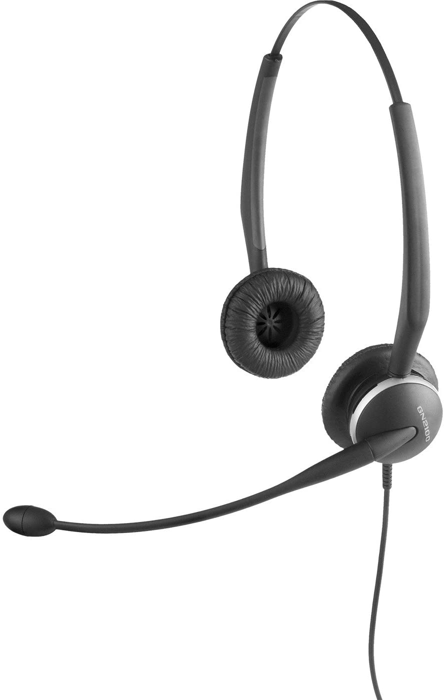 Jabra GN2125 NCTC Telecoil Headset for Deskphone for Special Hearing Needs